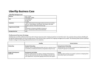 Services Business Case - Uberflip