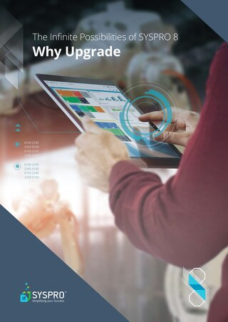 SYSPRO 8 Why Upgrade Brochure