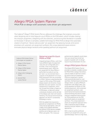 Allegro FPGA