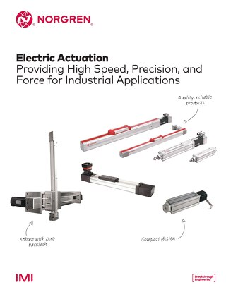 z8553BR - Electric Actuation Brochure