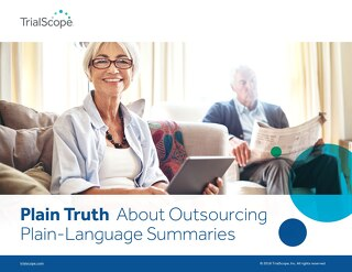 The Plain Truth About Outsourcing Plain-Language Summaries