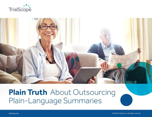The Plain Truth About Outsourcing Plain-Language Summaries