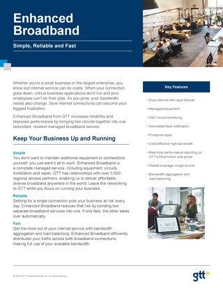 Enhanced Broadband Data Sheet