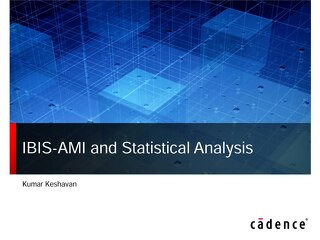 IBIS_AMI and Statistical Analysis