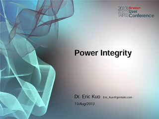 Power Integrity Conference Paper