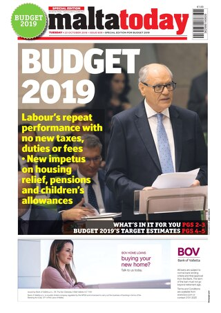 MALTATODAY 23 October 2018 Budget
