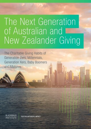 Next Generation Of Giving Australia & New Zealand 2018