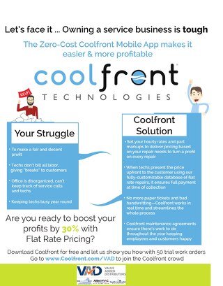 Value Added Distributors_Coolfront Fact Sheet 2018