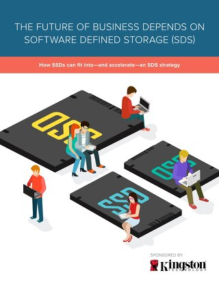 The Future of Business Depends on Software Defined Storage
