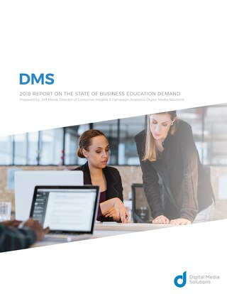 2018 Report on the State of Business Education Demand