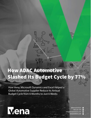 Vena Case Study: Microsoft  Dynamics & Excel at ADAC Automotive