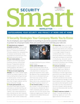 Security_Smart_Fall2018_Bridgewater