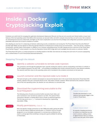 Cloud Security Threat Briefing: Docker Cryptojacking Exploit