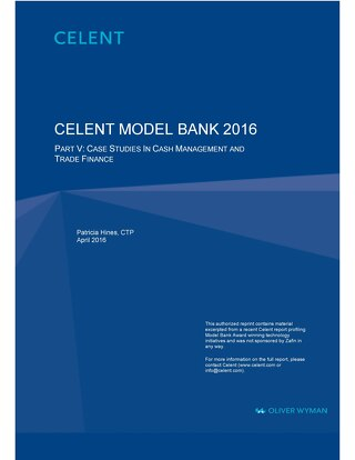 CIBC Case Study - 2016 Celent Model Bank Award