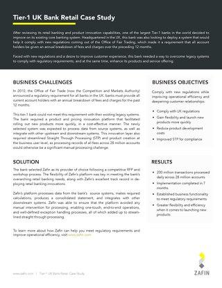 Tier-1 UK Bank Statements