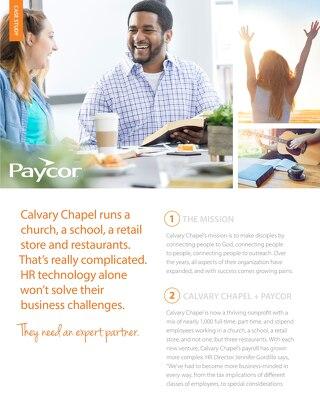 Calvary Chapel Case Study