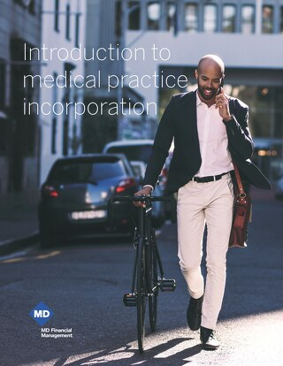 Introduction to medical practice incorporation