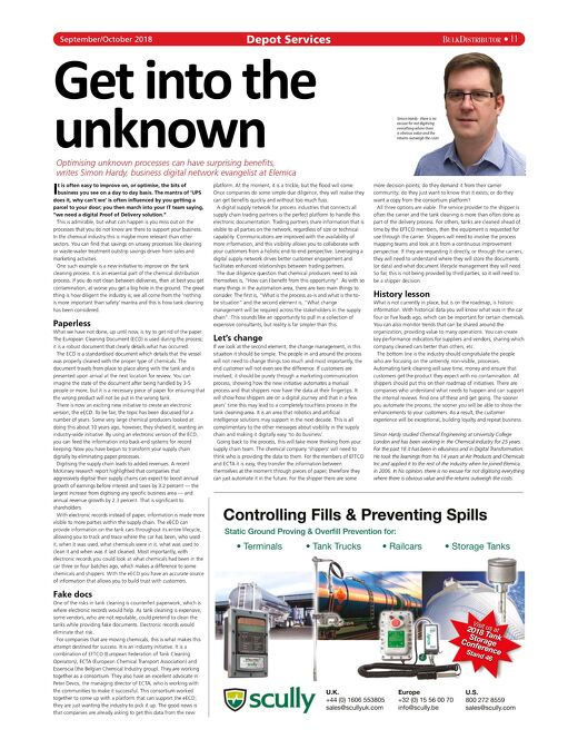 Bulk Distributor Magazine Features Simon Hardy