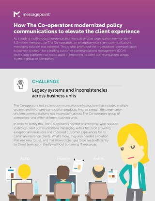 How The Co-operators modernized policy communications to elevate the client experience