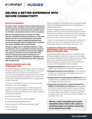 Deliver a Better Experience with Secure Connectivity