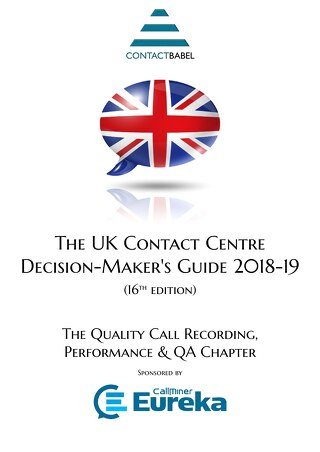 UK Contact Centre Decision-Maker's Guide 2018-2019
