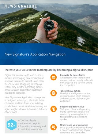 Application Navigation Flyer 2018