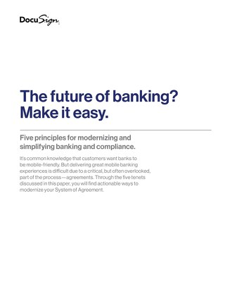 The Future of Banking WP