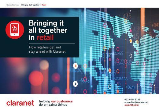 Claranet Retail Brochure