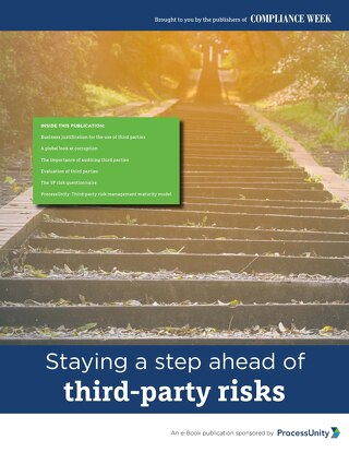 Staying a Step Ahead of Third-Party Risk