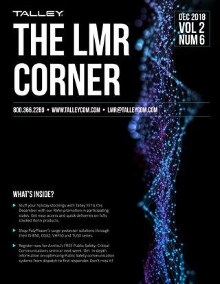 December 2018 - Talley LMR Corner