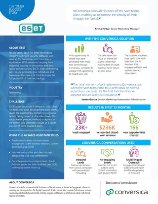 ESET Customer Success Story