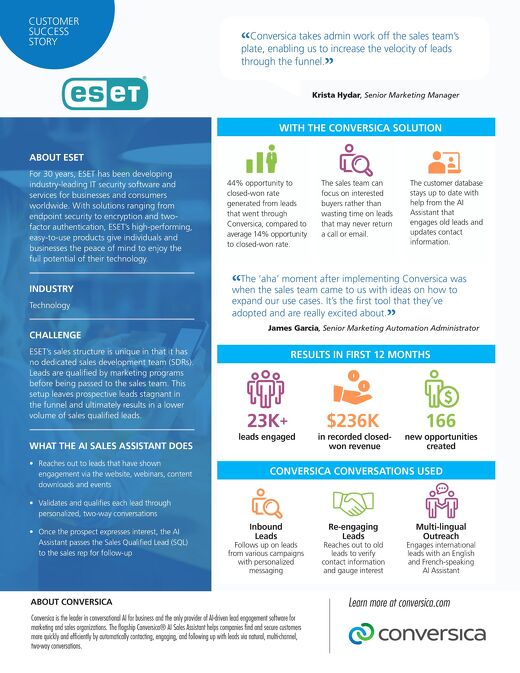 ESET Customer Success Story