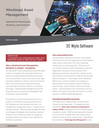 Workload Asset Management WhitePaper