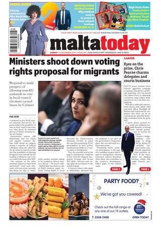 MALTATODAY 2 December 2018