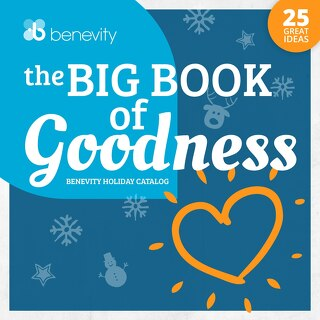 Benevity's Holiday Giving Catalog