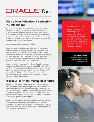 Oracle Dyn Corporate Overview