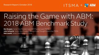 Raising The Game with ABM  |  2018 ABM Benchmark Study