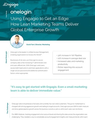 Case Study: How OneLogin Uses Engagio