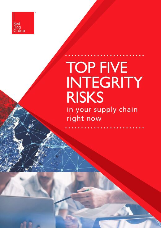 Top five integrity risks in your supply chain right now