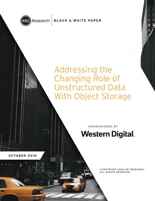 Addressing the Changing Role of Unstructured Data with Object Storage