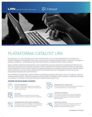 LRN Catalyst Platform (Portuguese)