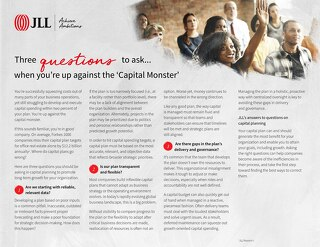 Three questions to ask capital planning