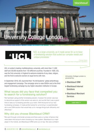 university-college-london-customer-story