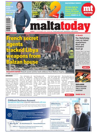 MALTATODAY 11 November 2018
