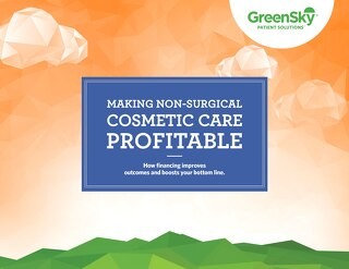 Making Non-Surgical Cosmetic Care Profitable