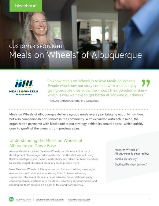 Meals on Wheels Albuquerque