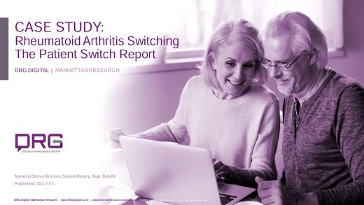 Rheumatoid Arthritis Switching using The Patient Switch Report