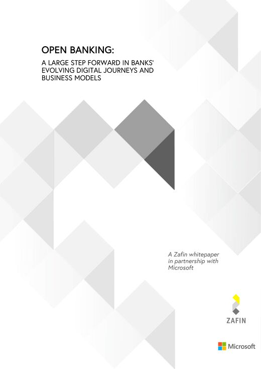 Open Banking: A large step forward in banks evolving digital journeys and business models