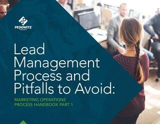 Lead Management Process Marketing Operations eBook