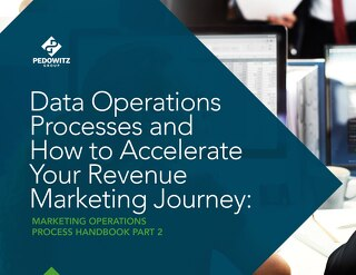 Data Operations Process Marketing Operations eBook